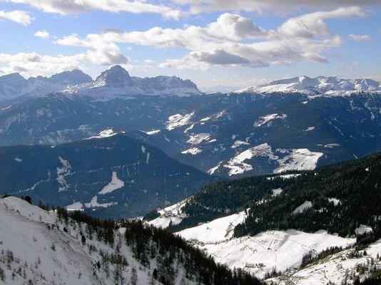 Kronplatz, Südtirol - das Skigebiet mit Sonnengarantie