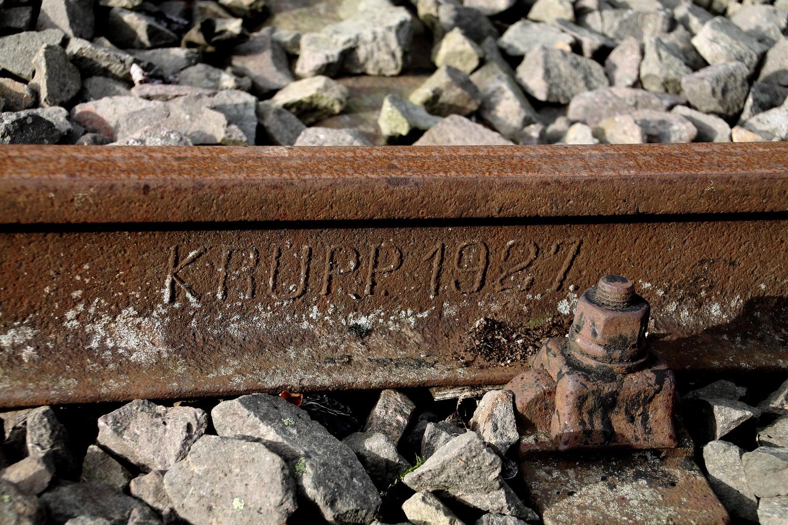 ... Krupp-Stahl... 1927