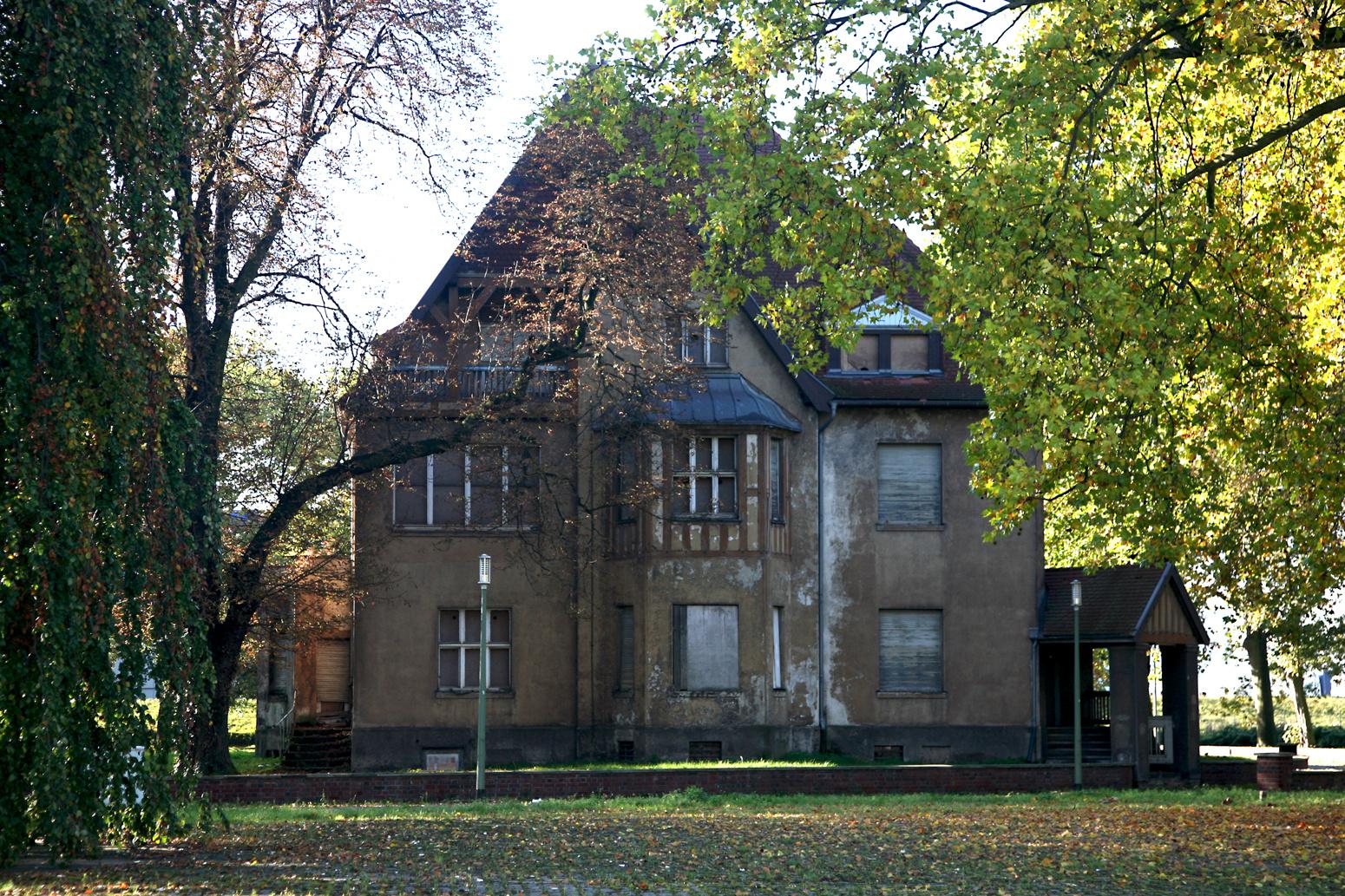 Krupp Villa ( vorher )