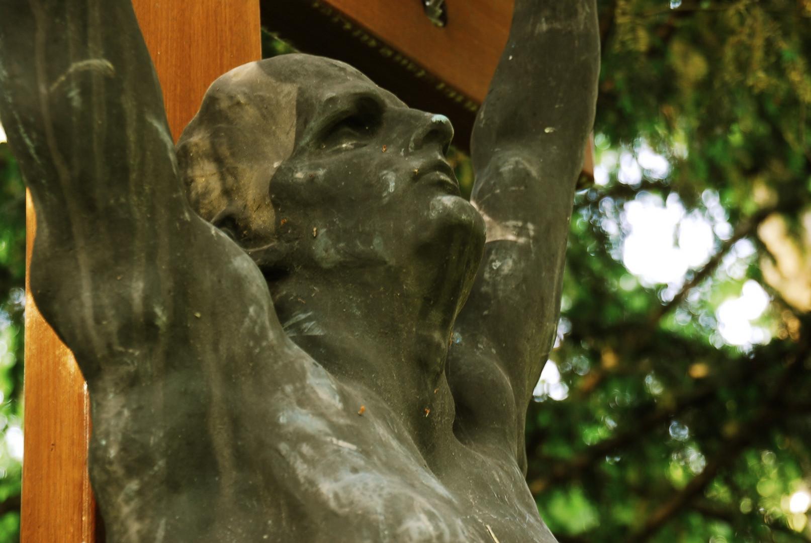 Kruzifix, Friedhof Mainz-Mombach