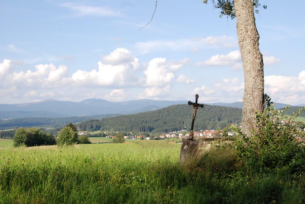 Kruzifix meets nature