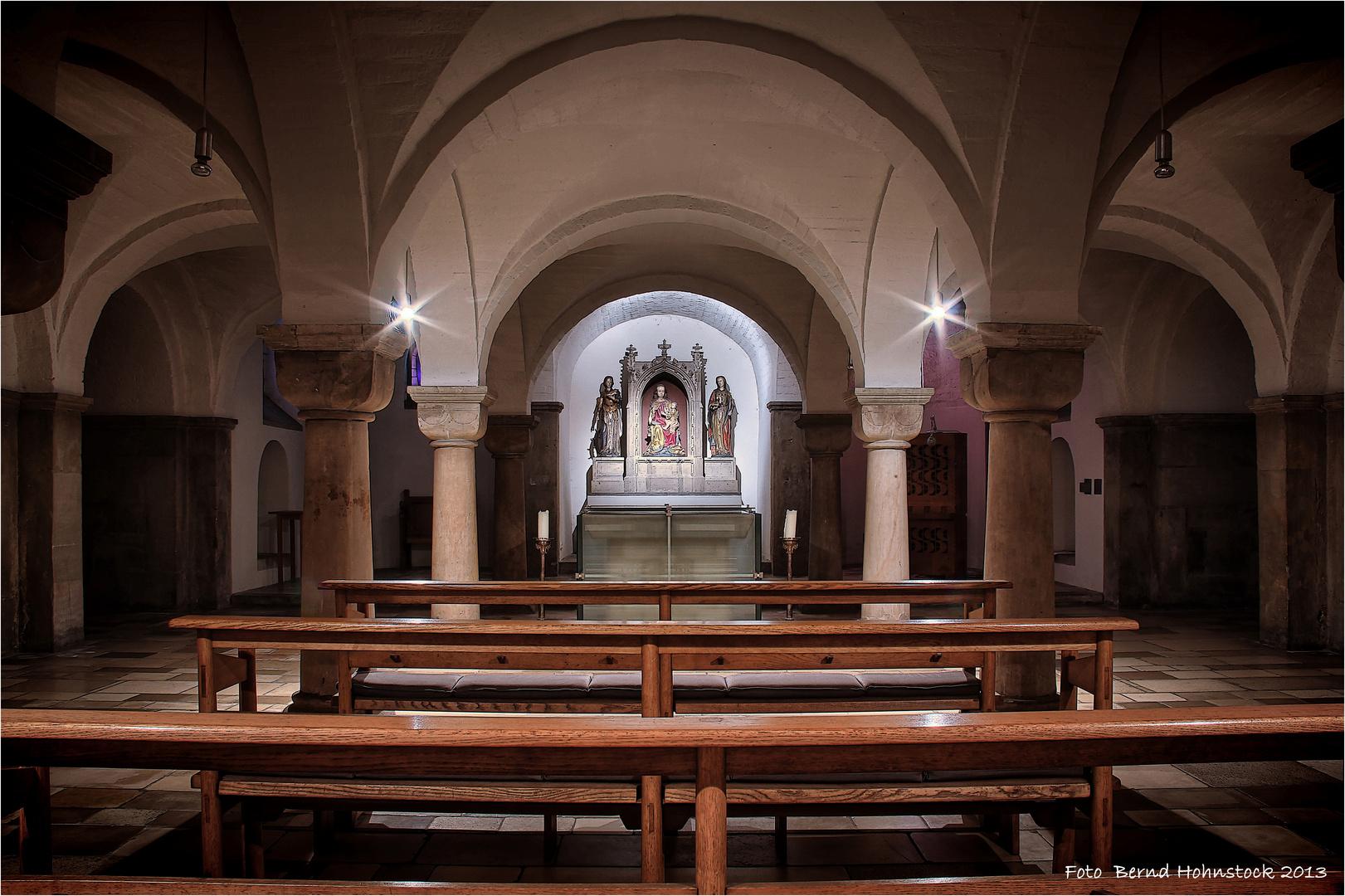 Krypta St. Vitus Mönchengladbach ...