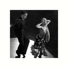 Ksenia Kasper & Markus Homm beim Samba