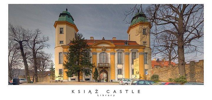 Ksiaz Castle, Walbrzych, Dolny Slask (Schlos Fuerstenstein, Waldenburg, Nieder Schlesien)