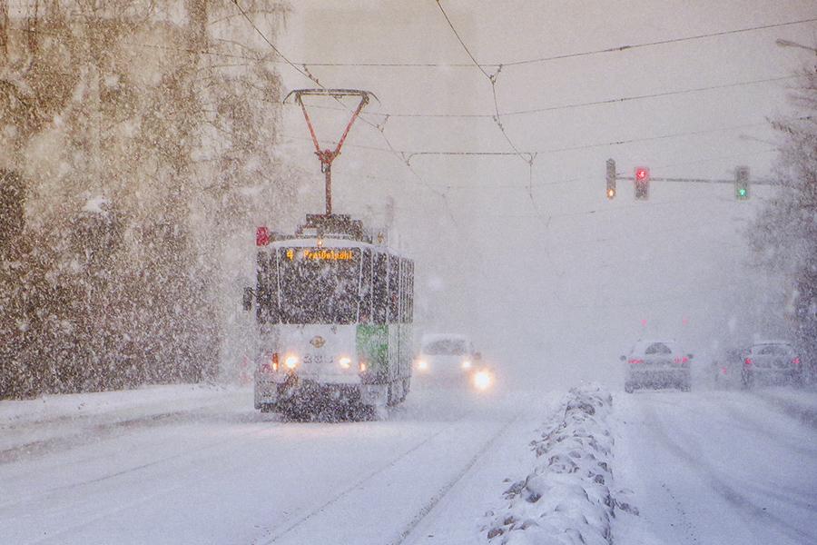 KT4D im Schnee