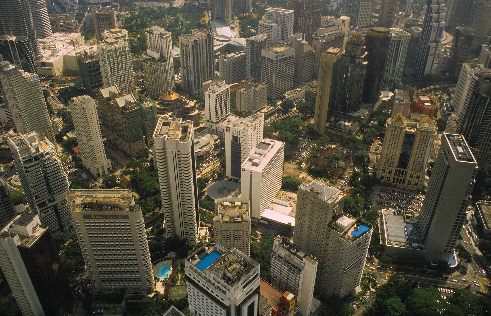Kuala Lumpur - Stadtlandschaft