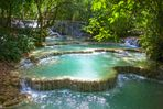 Kuang Si Waterfall.
