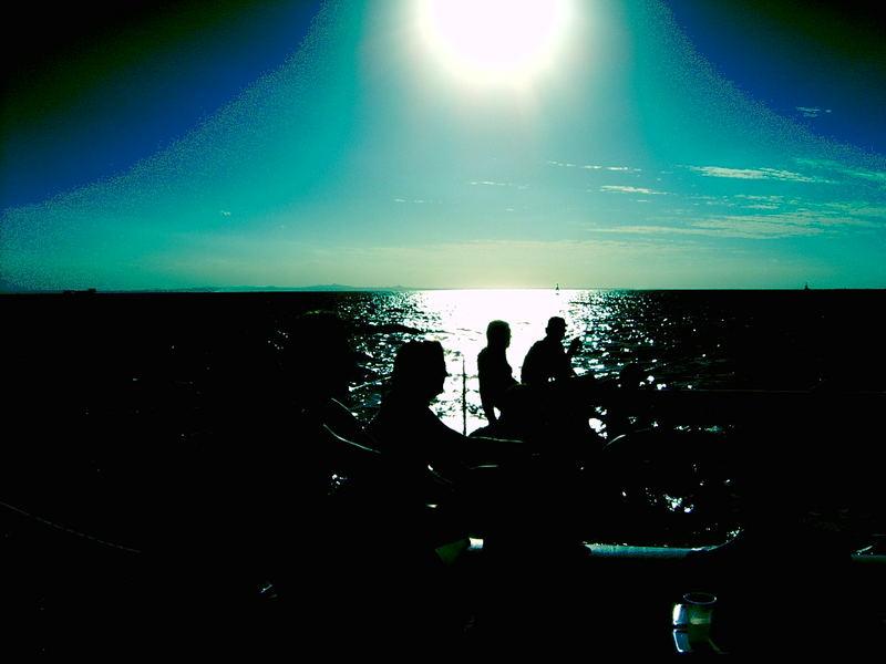 Kuba auf dem Meer