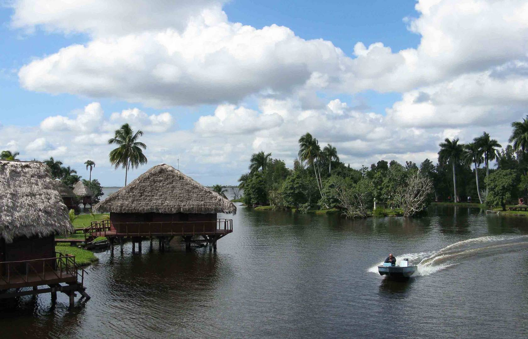 KUBA (Cuba) - Zapata - Schatzsee (Laguna del Tesoro) - GUAMA