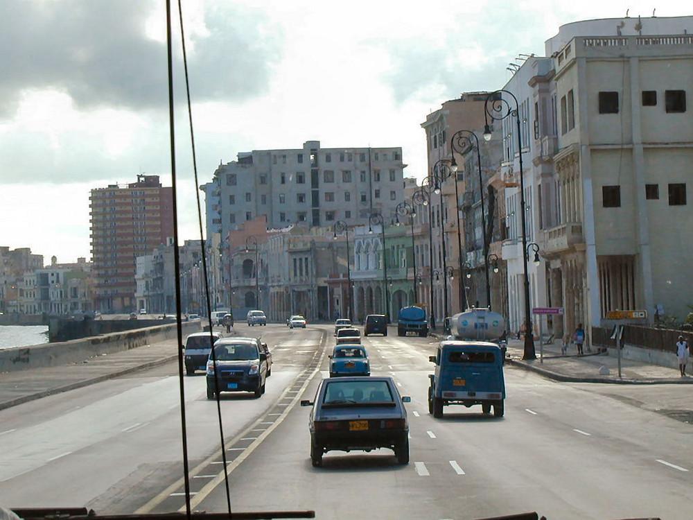 Kuba, Havanna, Malecon