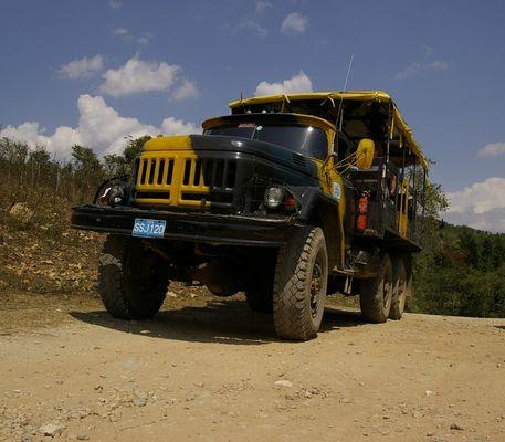 Kuba - Safari-Truck