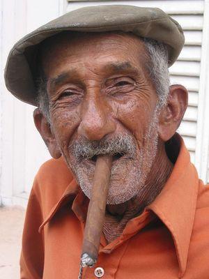 Kubaner in Cienfuegos