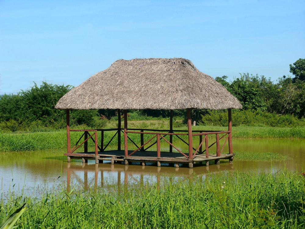 Kubanische Hütte