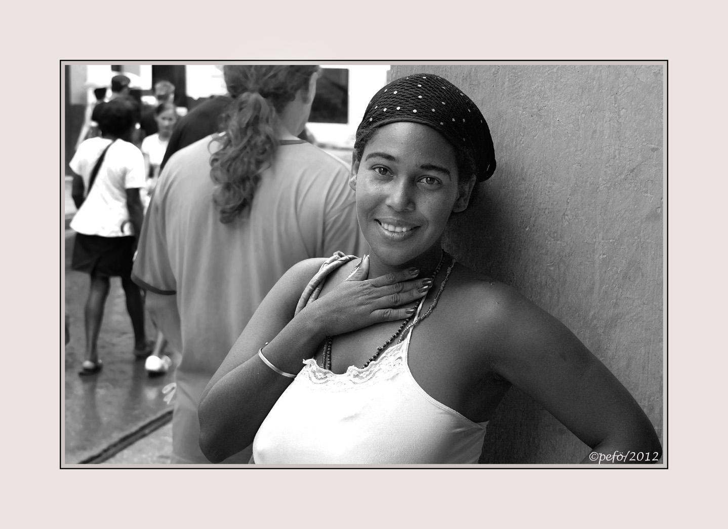Kubanische Schönheit