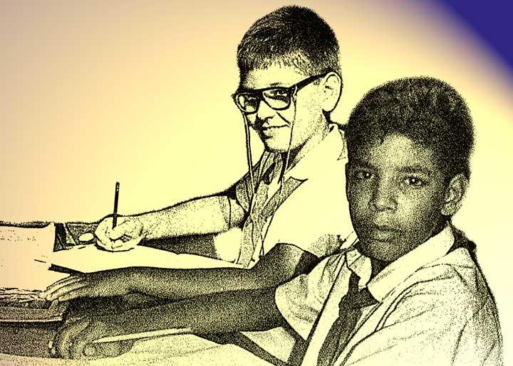 Kubanische Schüler