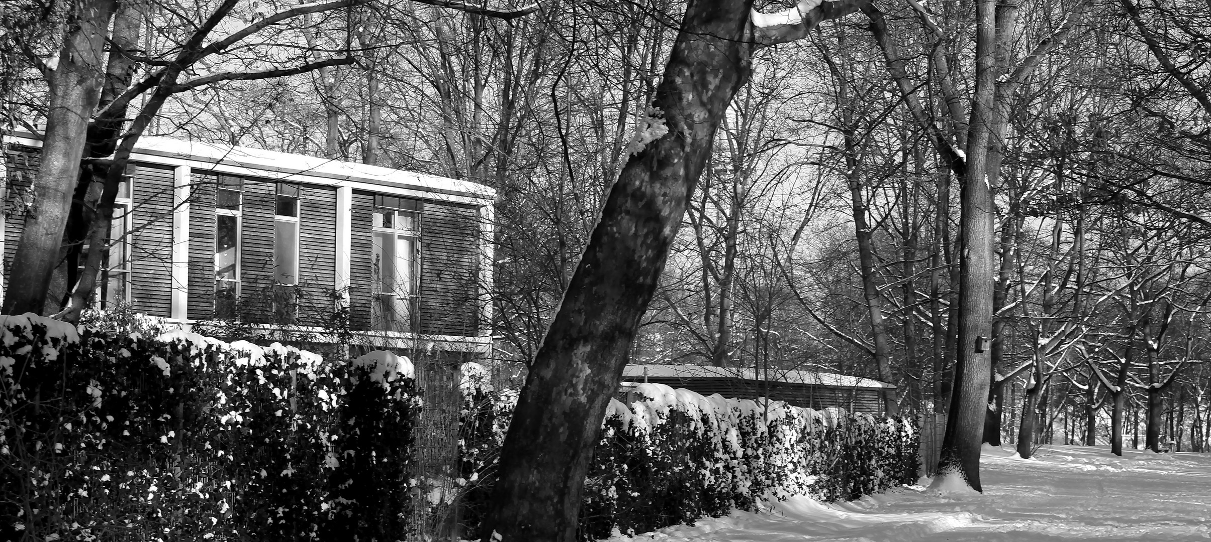 Kubushäuser in Nürnberger Park