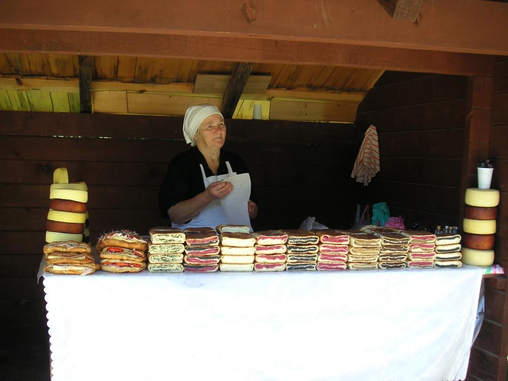 Kuchen und Käse