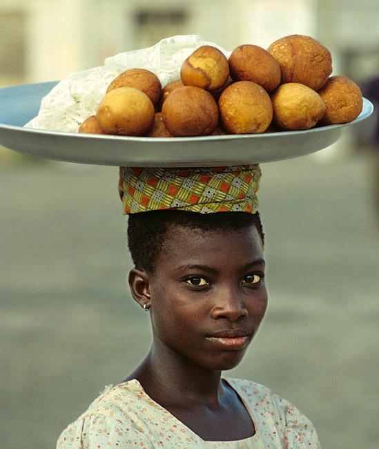 Kuchenverkäuferin