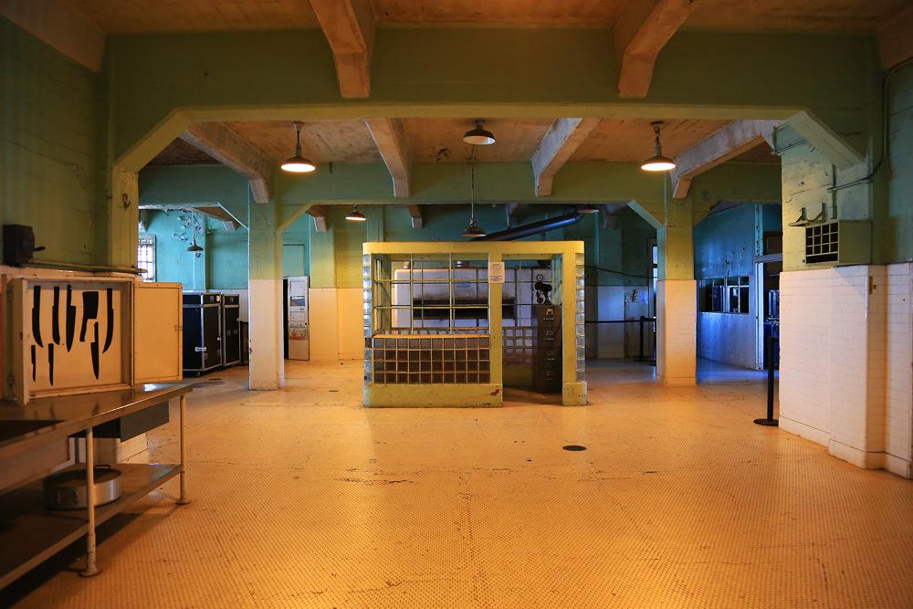 Küche von Alcatraz