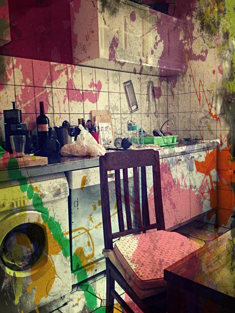 Küchen-Kleckse