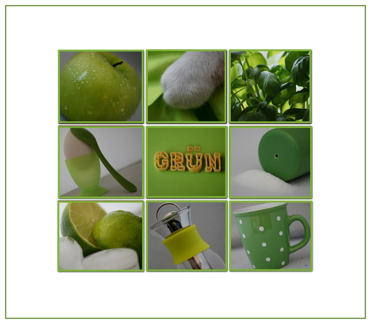 Küchengrannysmithgrün