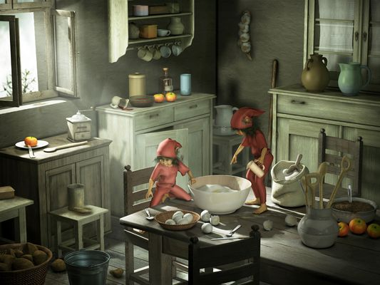 Küchenhelfer - heute