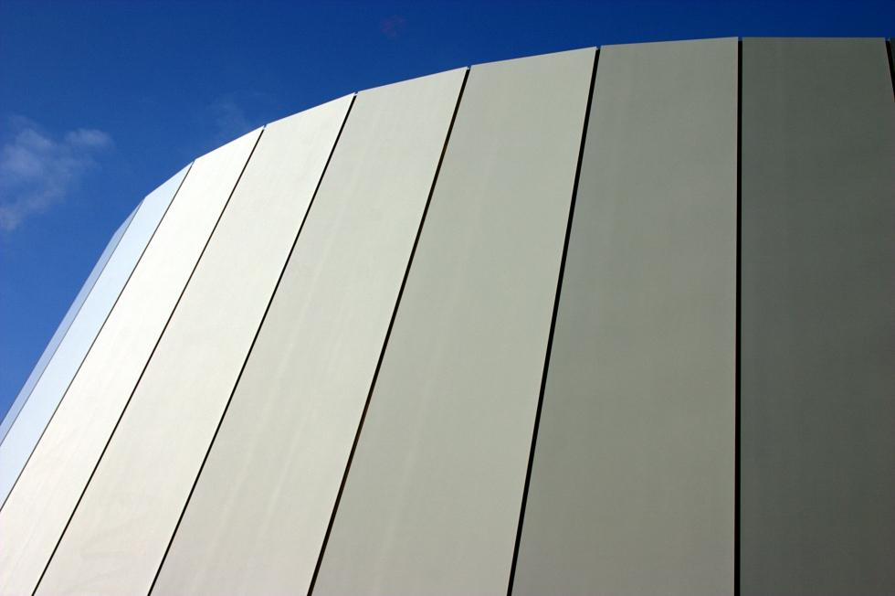 Kühle Architektur