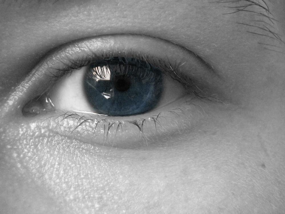 kühler Blick