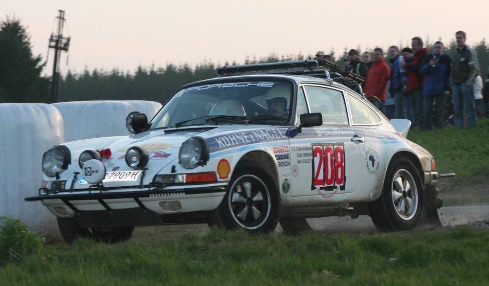 KÜHNE & NAGEL Safari Porsche