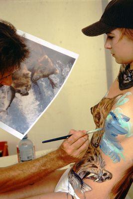 Künstler und seine Kunst