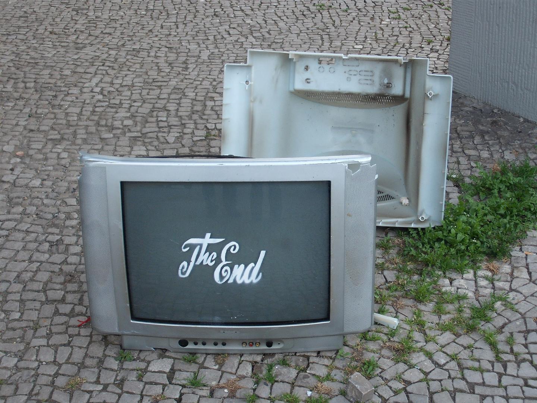 Künstlerische Müllentsorgung