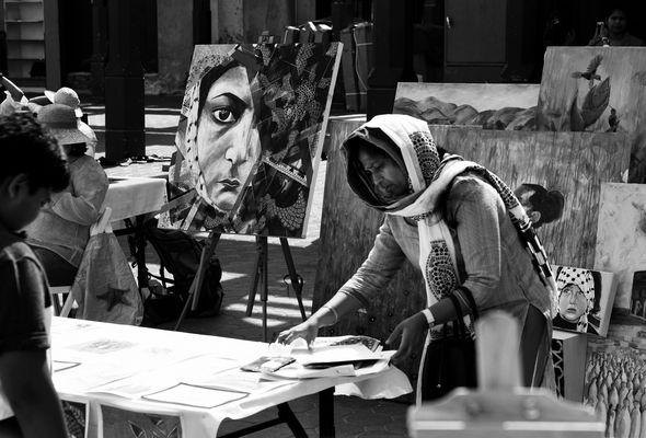 Künstlermarkt in Dubai