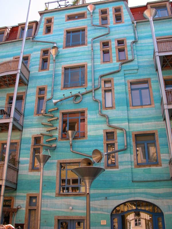 Künstlerviertel in Dresden -Ost