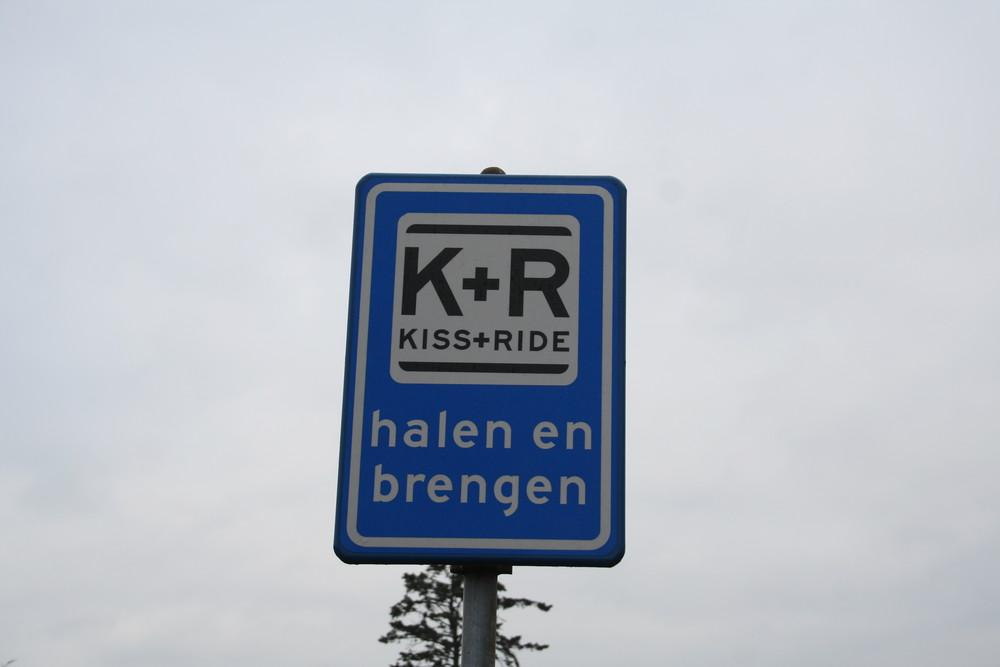 Küssen und fahren...