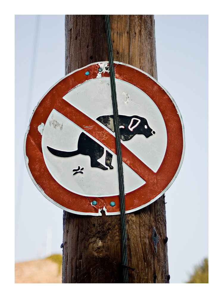 Küssen verboten!
