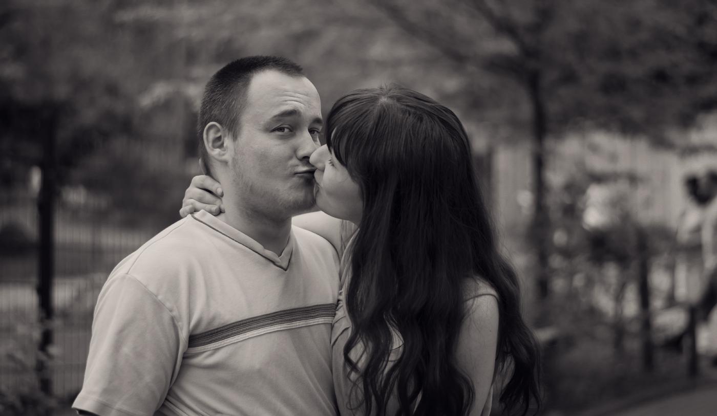 Küssen verboten