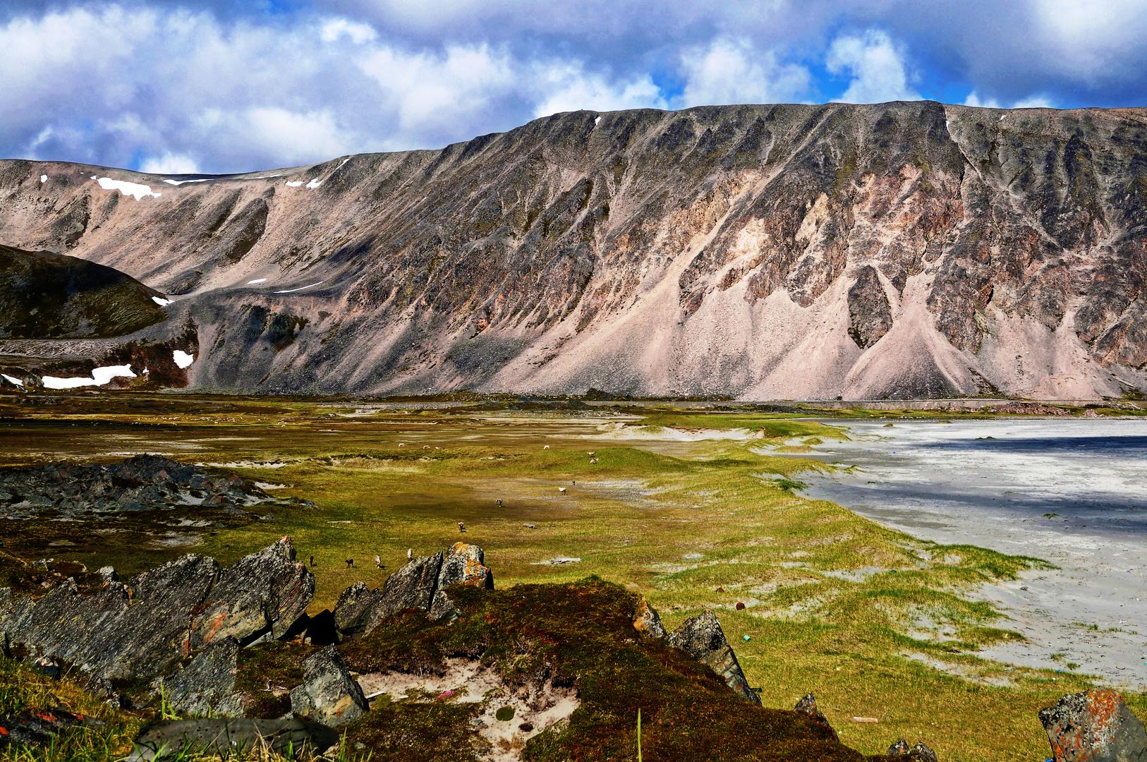 Küste am nördlichen Eismeer