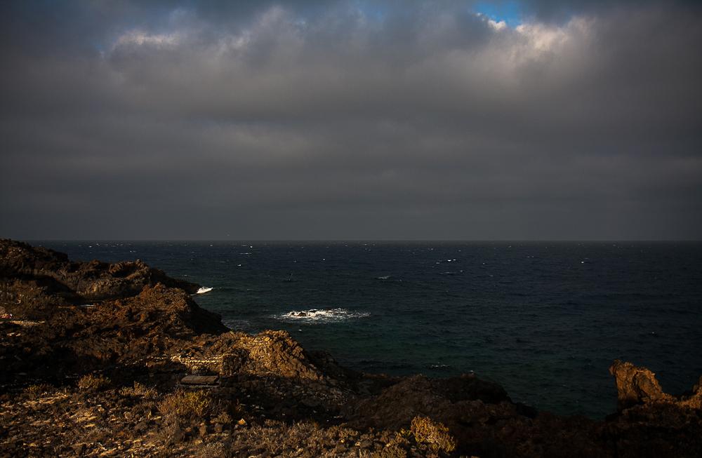 Küste bei Charco del Palo