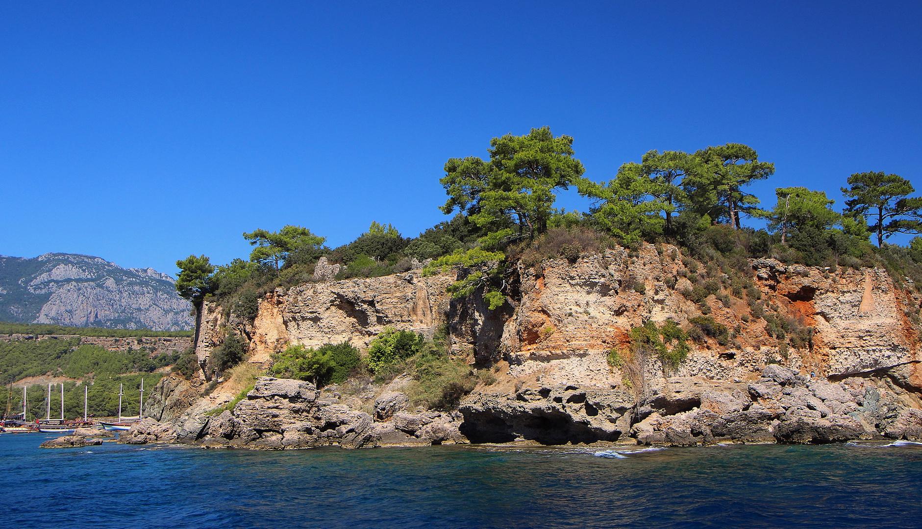 Küste bei Phaselis