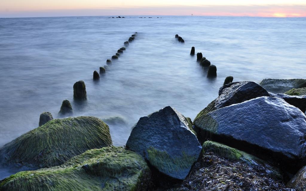 Küste bei Sassnitz