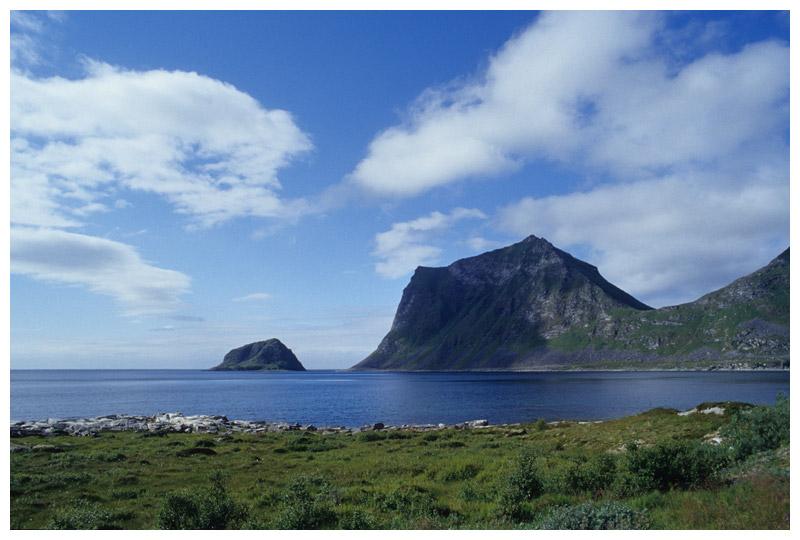 Küste bei Utakleiv, Lofoten