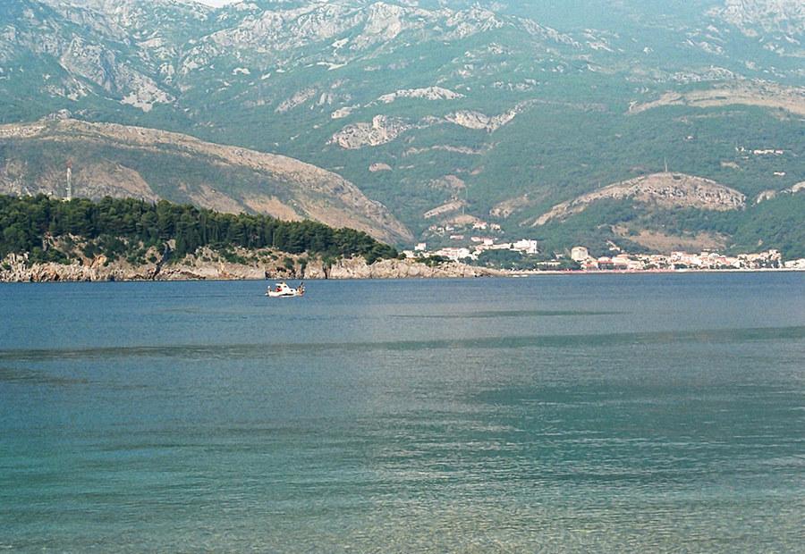 Küste Budva's (Serbien&Montenegro)