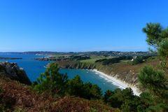 Küste der Bretagne