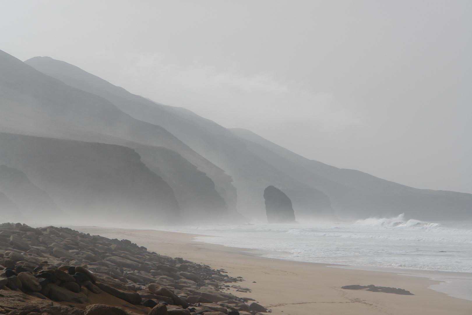 Küste im Nationalpark auf Fuerteventura