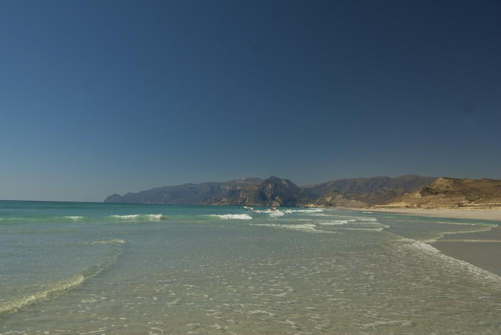Küste im Oman