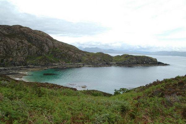 Küste in Schottland (Isle of Skye)
