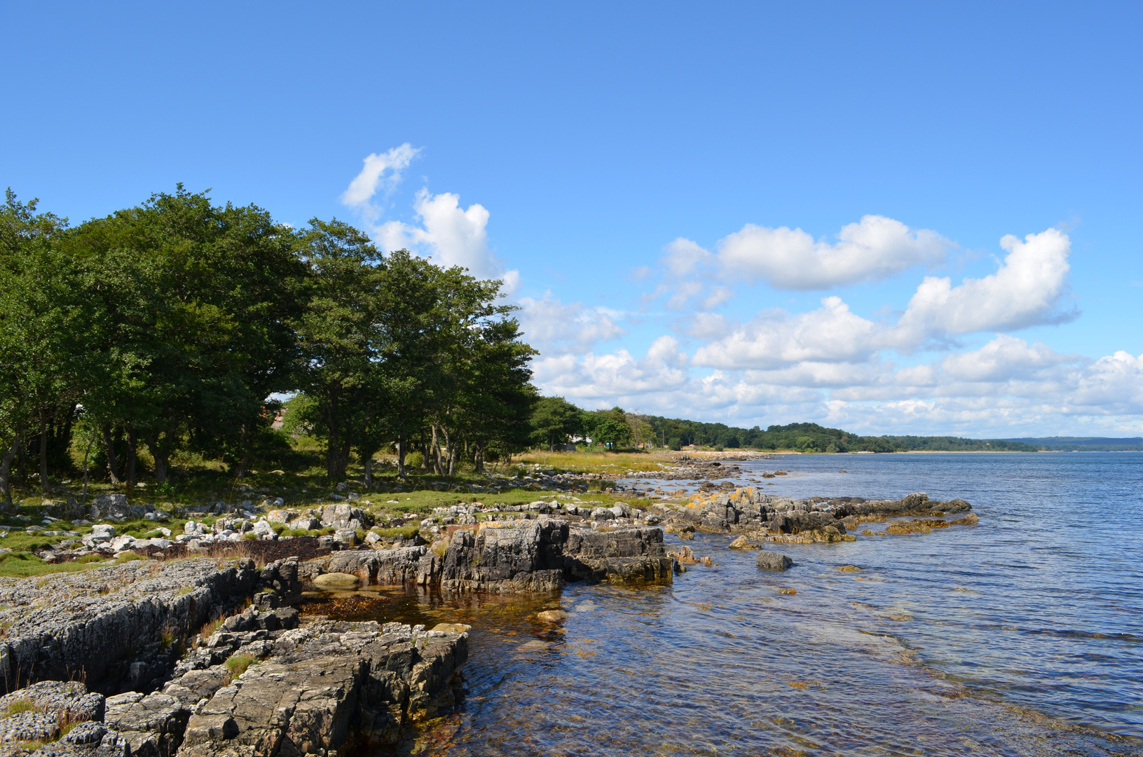 Küste in Schweden