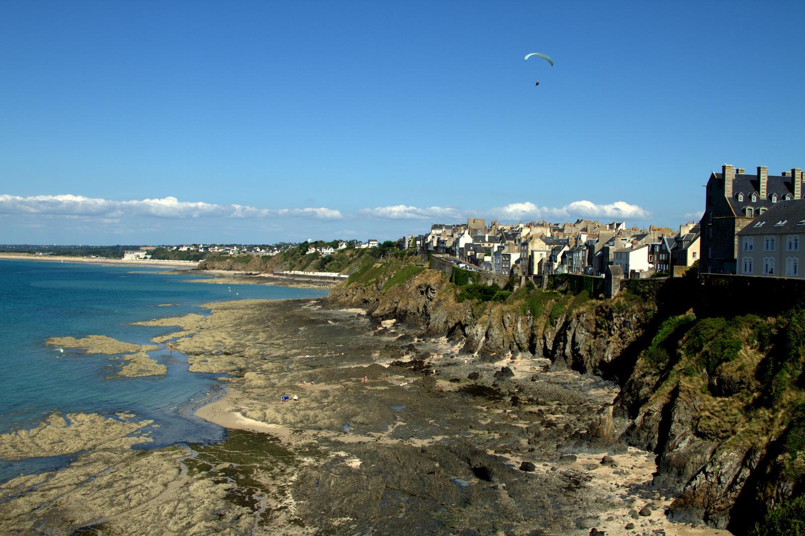 Küste von Granville- Normandie