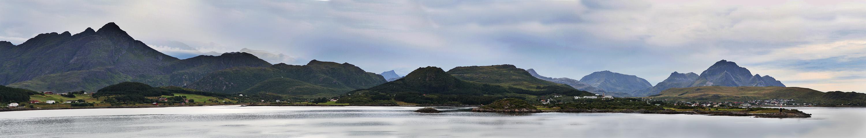 Küste vor Leknes, Lofoten