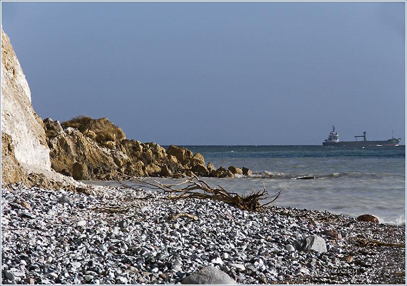 Küstenabbruch vor Kap Arkona